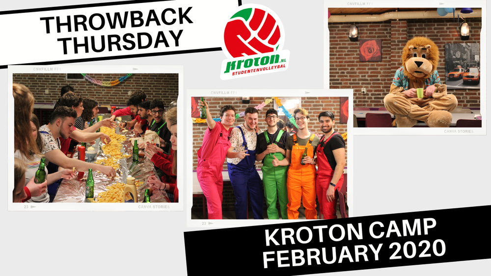 Throwback Thursday: Kroton Kamp