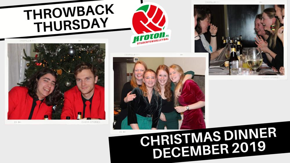 Throwback Thursday: Kerstdiner