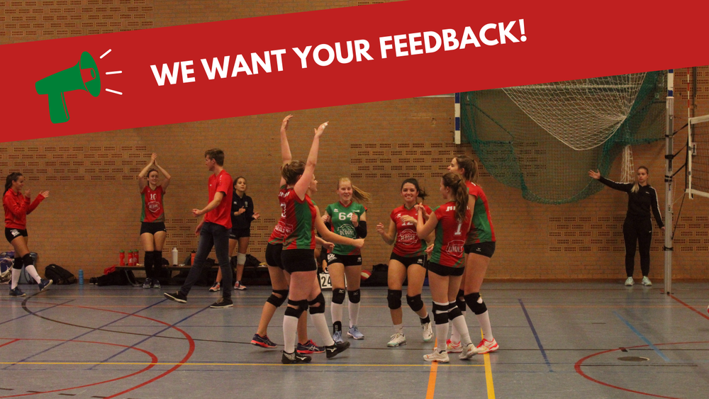 Wij willen graag jullie feedback!