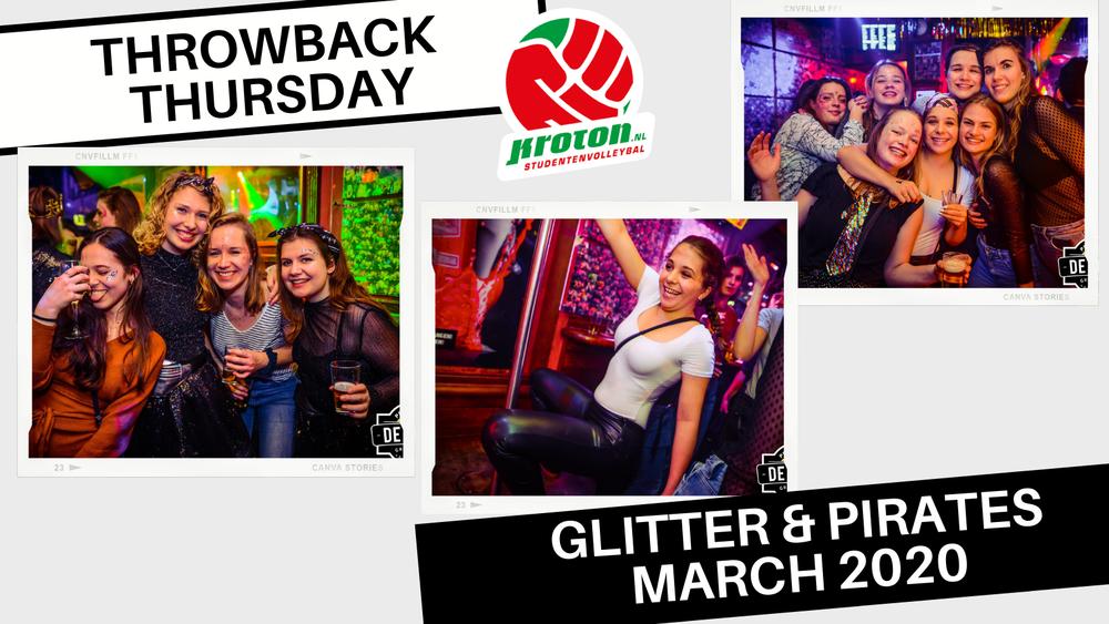 Throwback Thursday: Glitter & Piraten