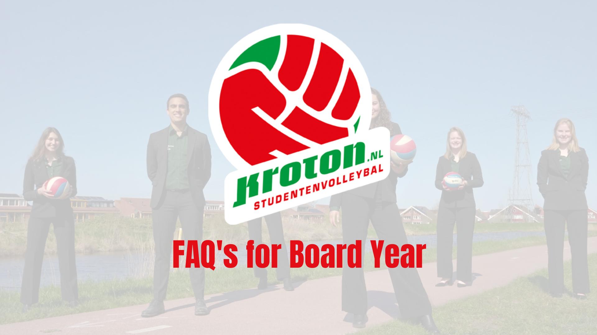 Board Year '21-'22 FAQ's