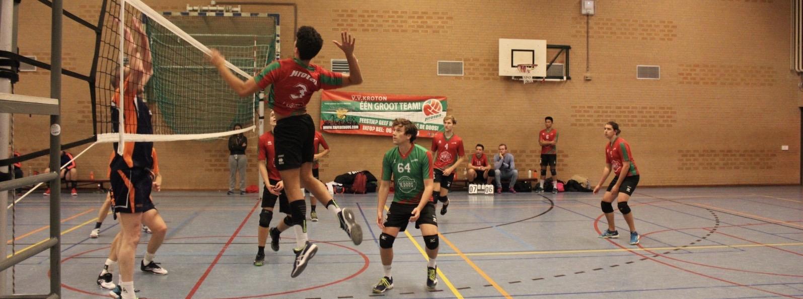 Volleyballen doe je bij V.V. Kroton!